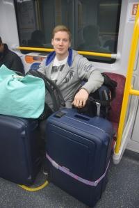 Sydneyn junassa.