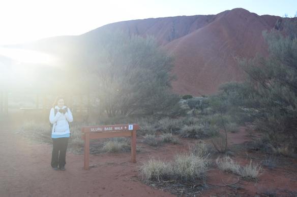 Uluru Base Walk alkaa