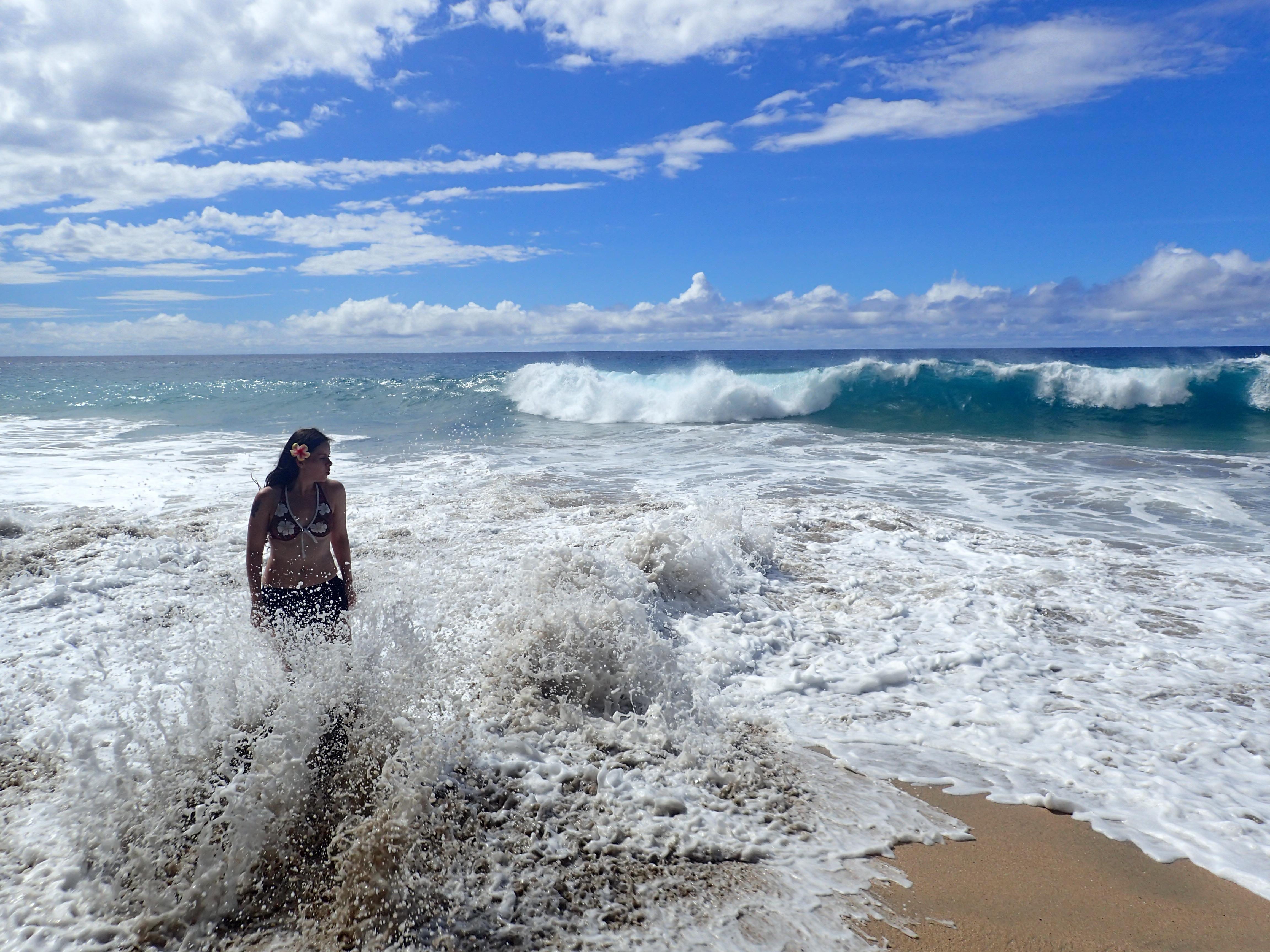 ...ja reilut aallot.