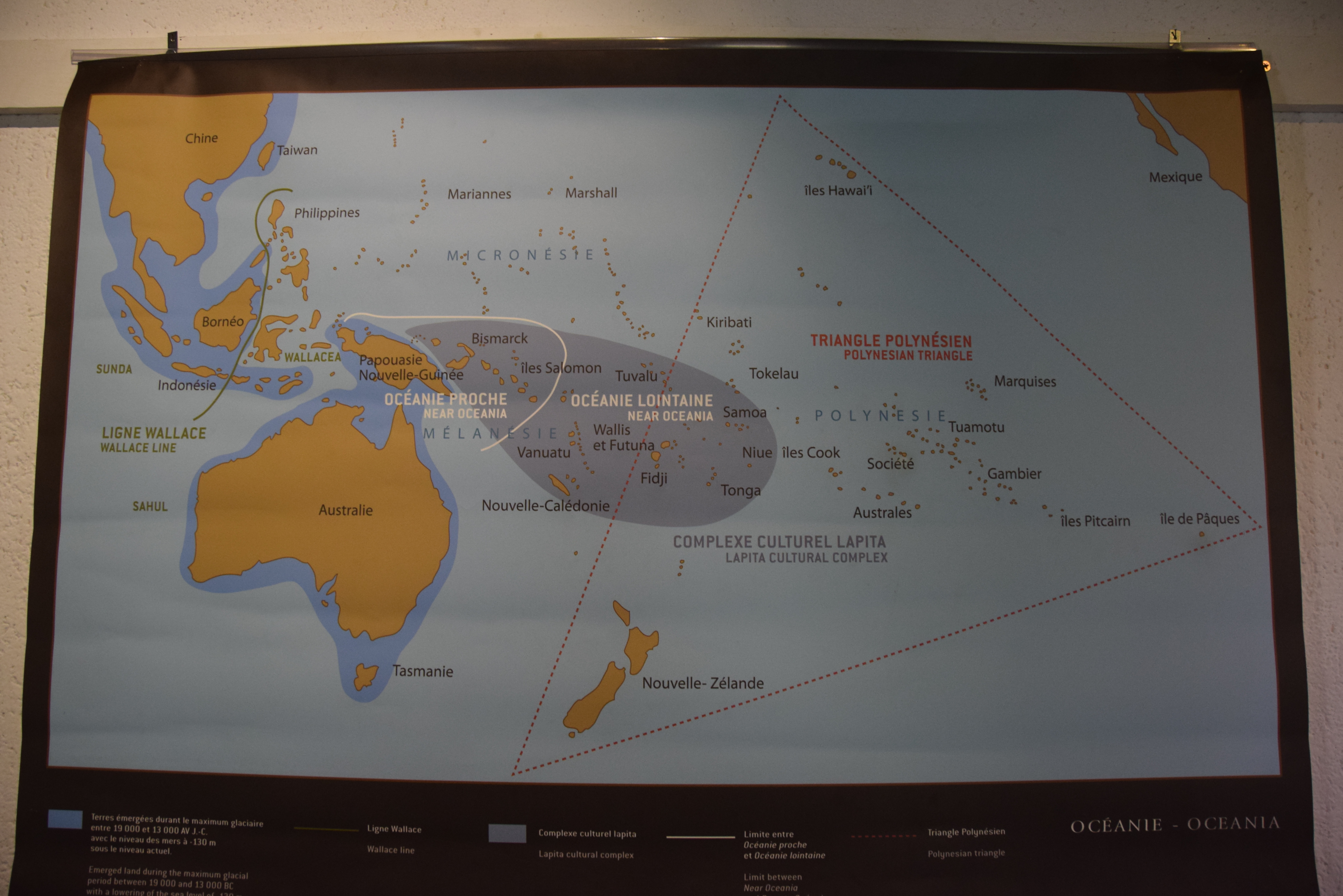 """Tyynenmeren saaret ja Polynesian """"kolmio"""""""