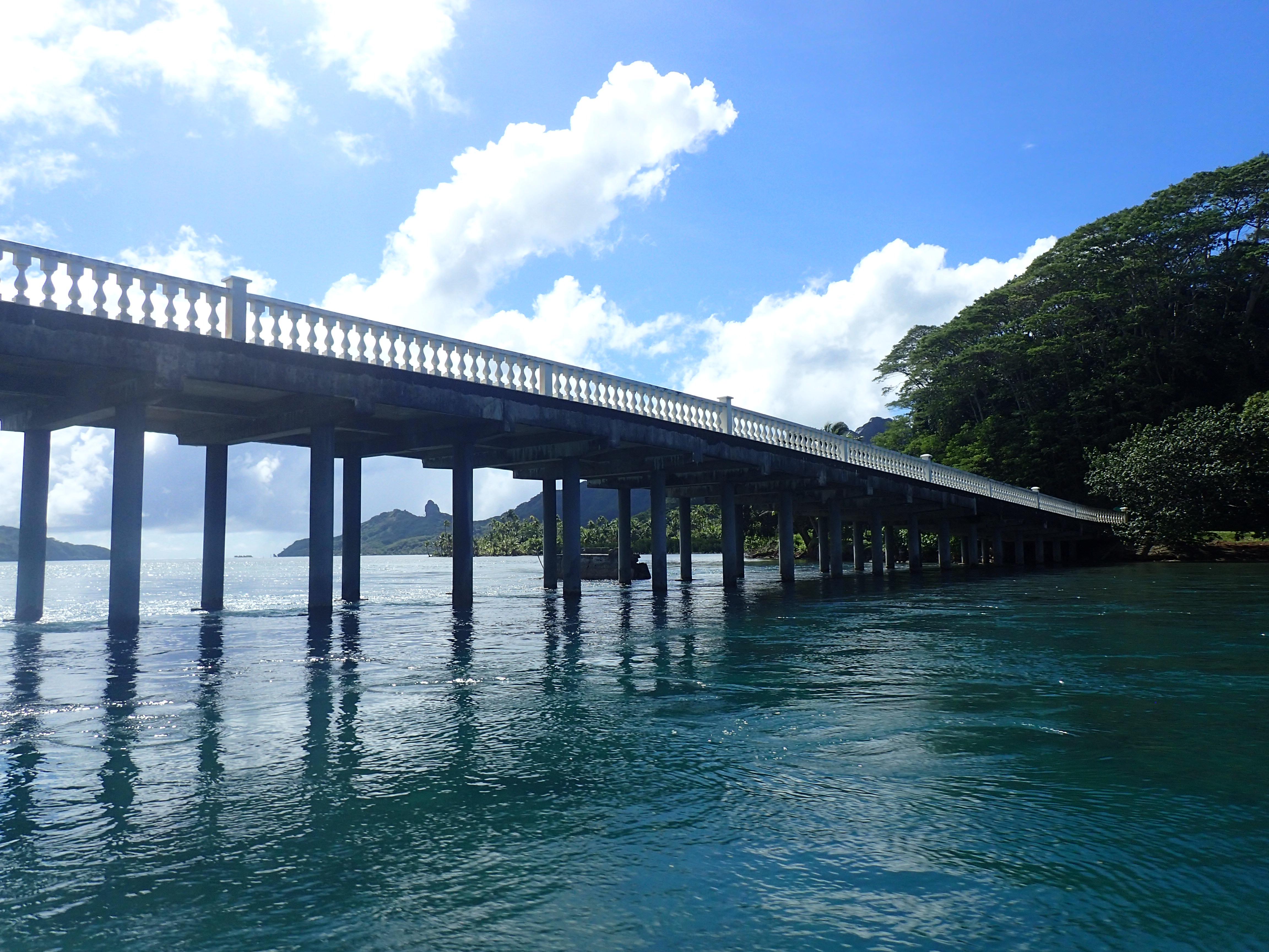 Nuin ja Itin välisen sillan alta