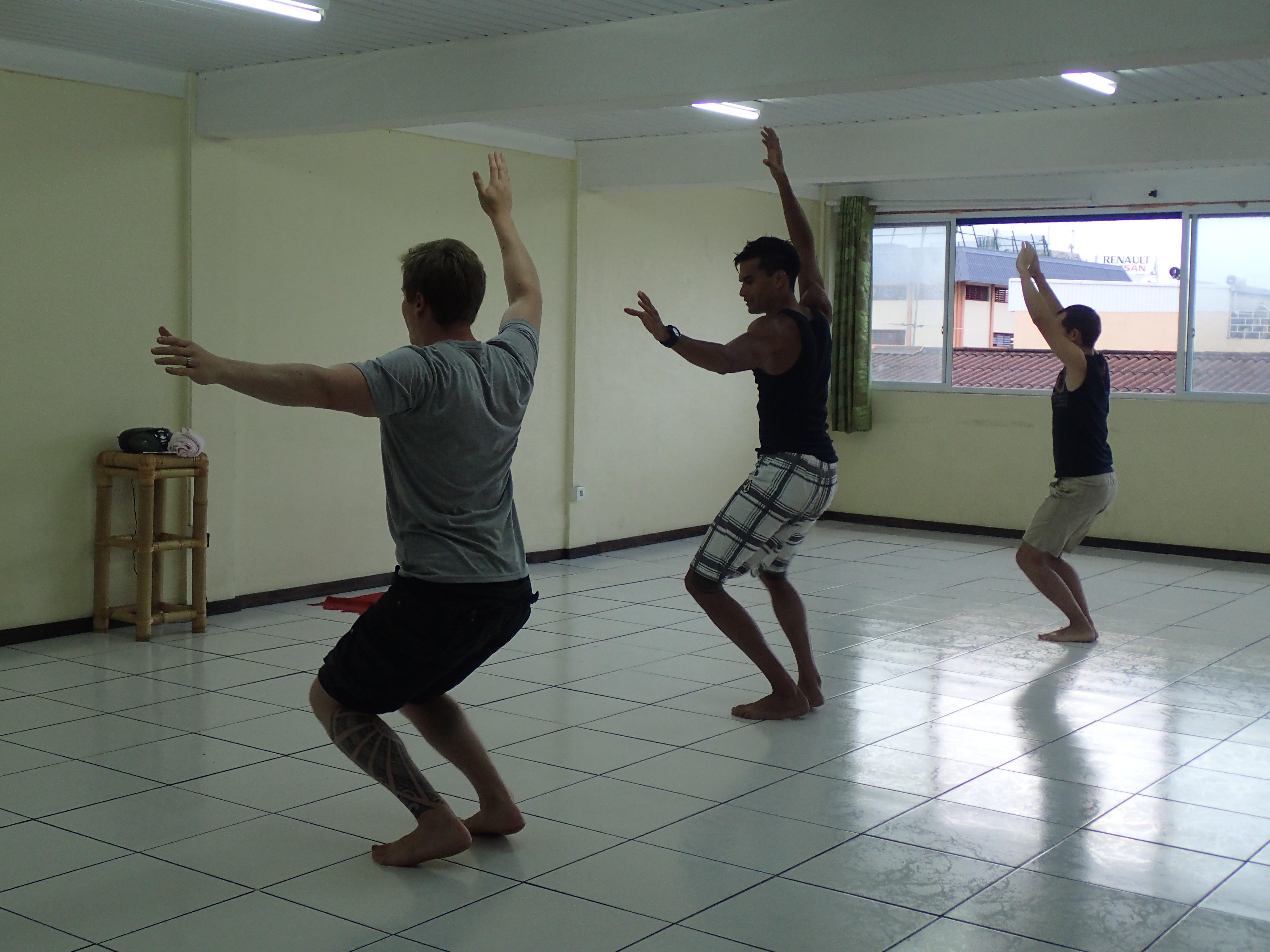 Antin ekat tanssitreenit