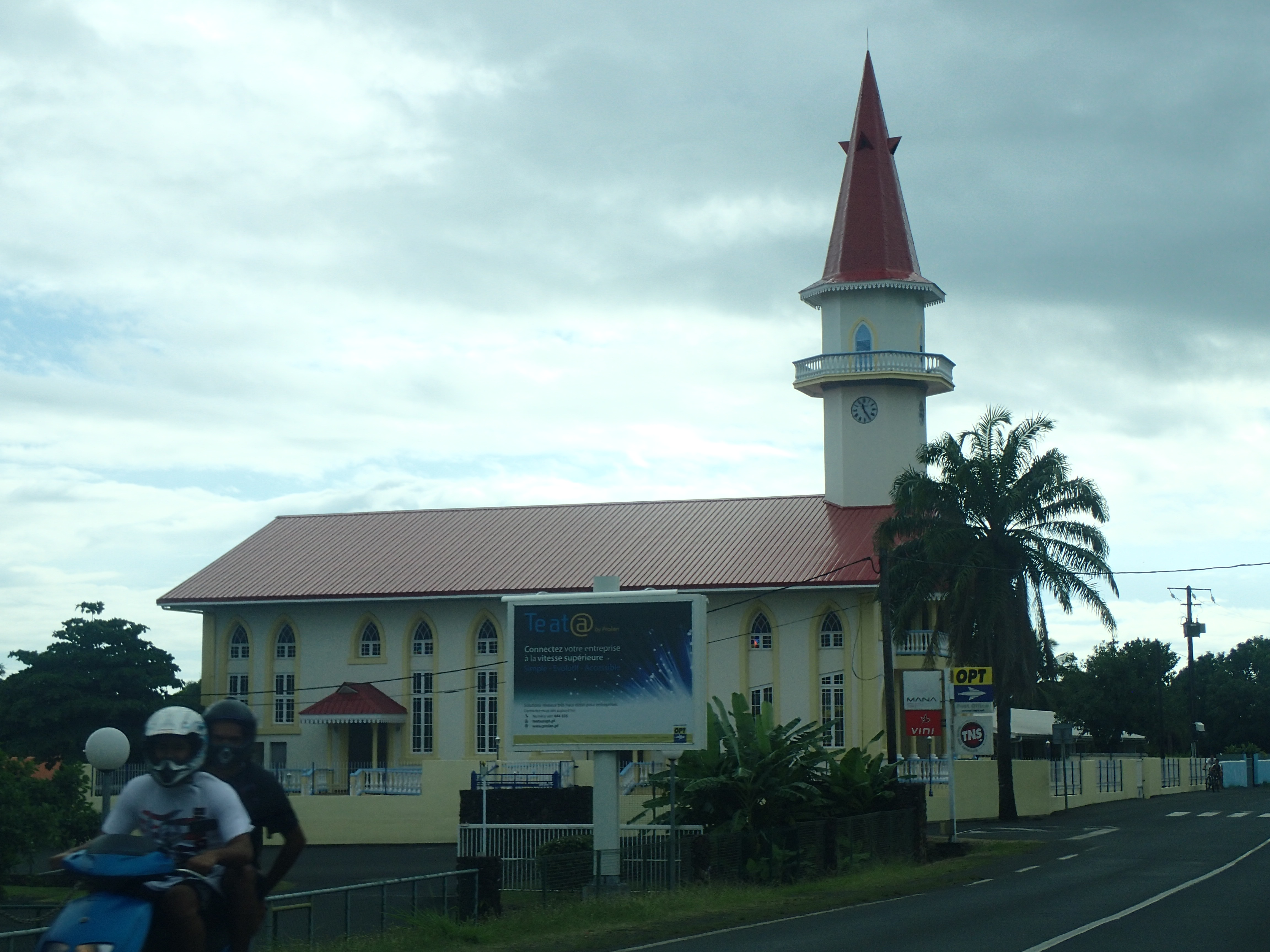 Yksi monista kirkoista