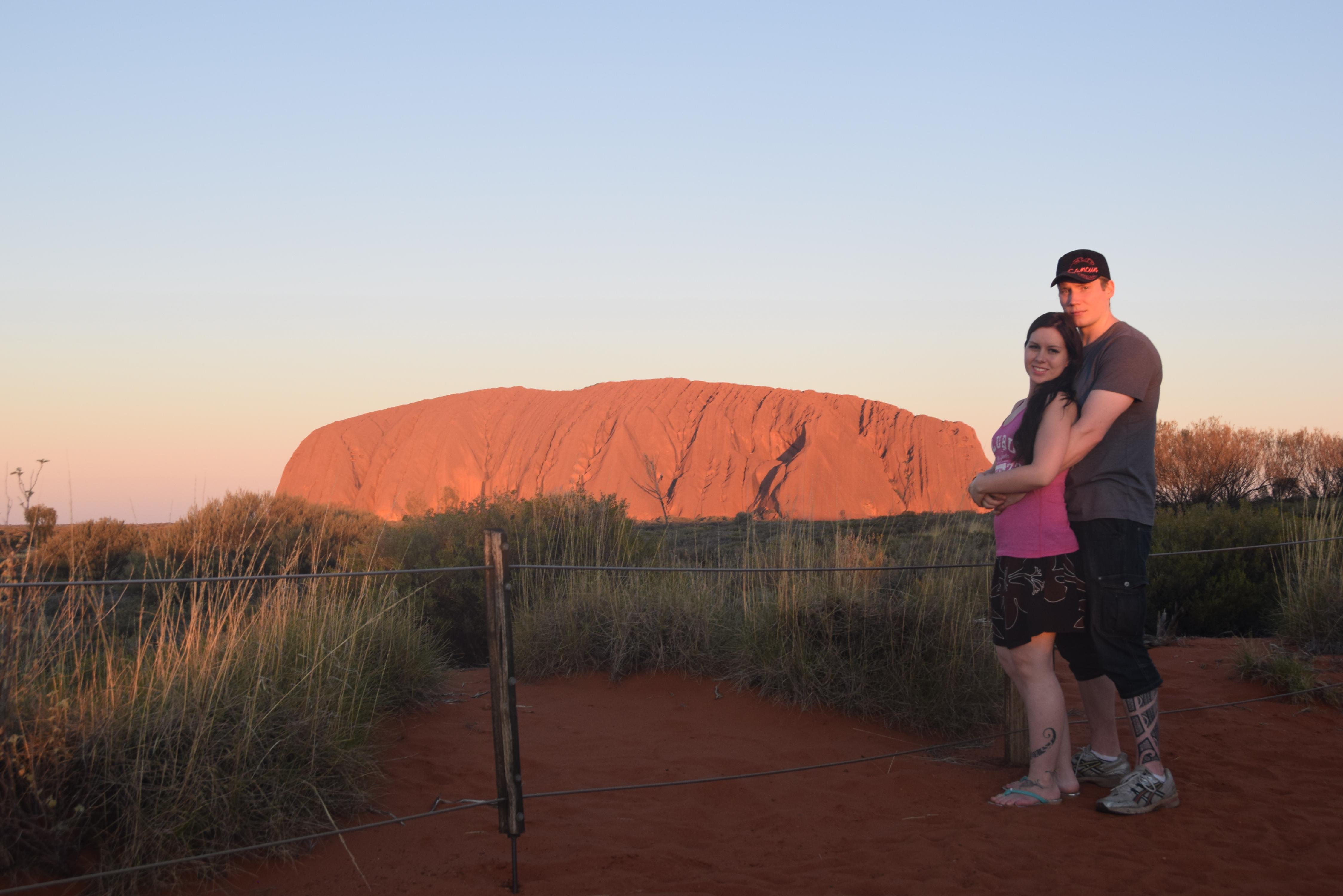 Uluru sunset, Australia (2015).