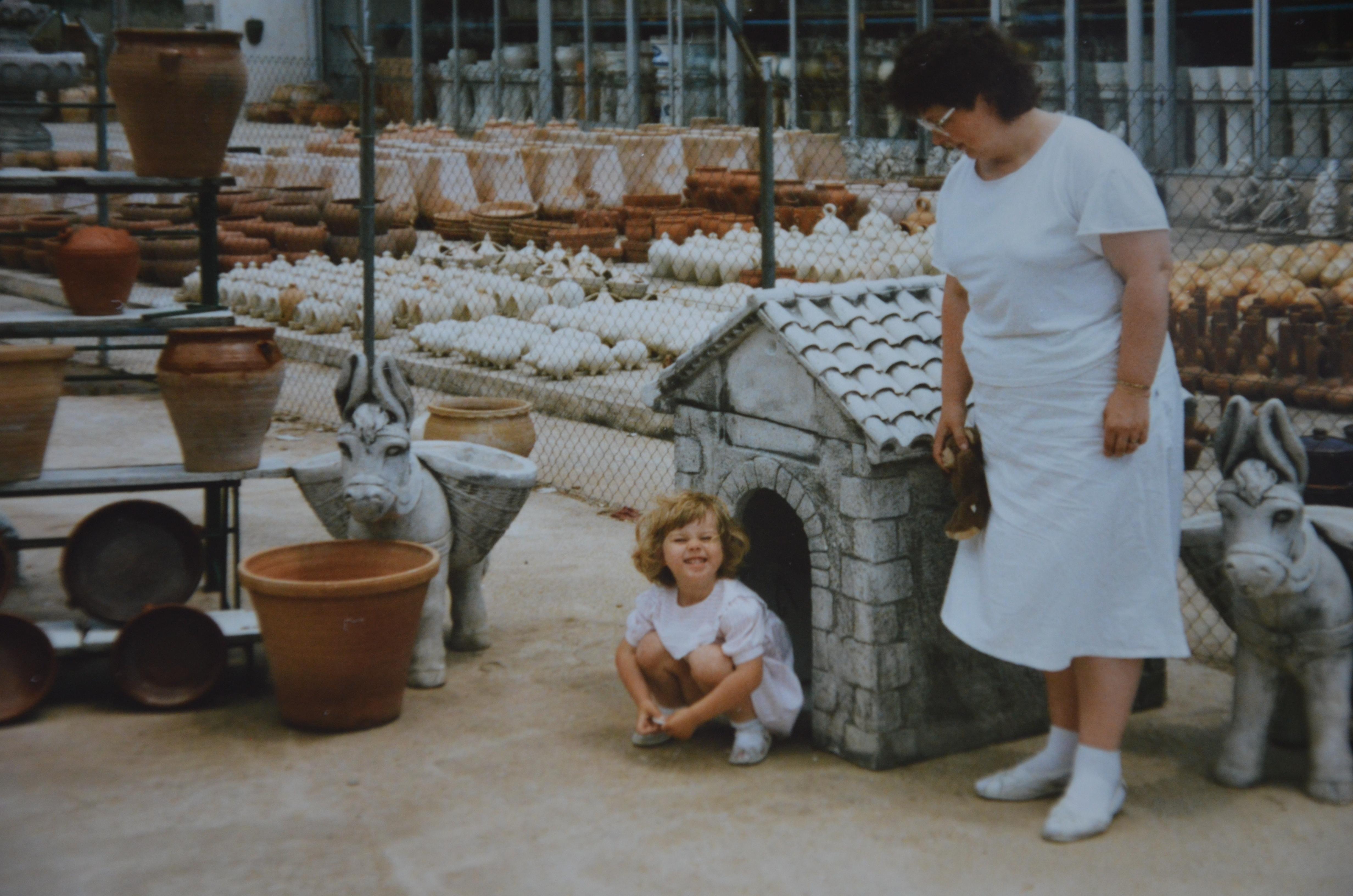 3-vuotiaana Espanjassa