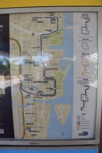 Metromover-kartta